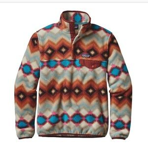 Patagonia Snap-T Fleece Pullover Timber Twist